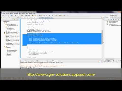 Google App Engine Datastore Using Java