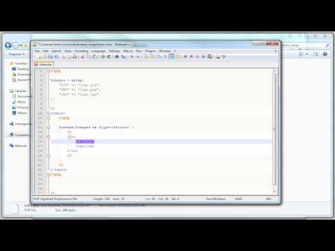 PHP Tutorial: Embed image source in HTML: Hide image location