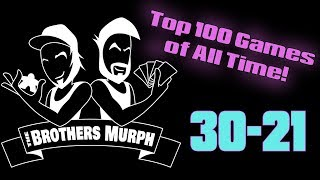 Top 100 Games Of All Time! (30-21) - The Brothers Murph
