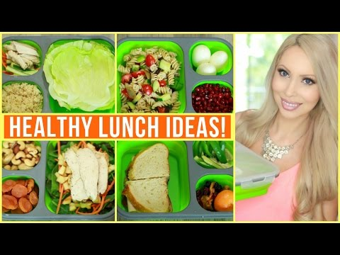 Healthy Packable Lunch Ideas!