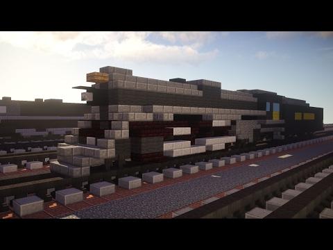 Minecraft Polar Express Pere Marquette 1225 Steam Train Tutorial