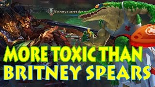 TRYNDAMERE VS RENEKTON: DIAMOND SOLOQ THIS GAME WAS MORE TOXIC THAN BRITNEY SPEARS' SONG [Patch 7.7]