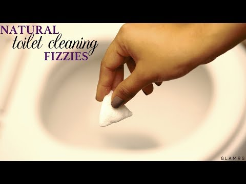 DIY Homemade Fizzy Toilet Cleaning Bomb | Bathroom Cleaning Tip