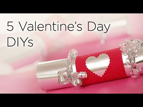 5 Cute DIY Valentines Day Gifts & Treats