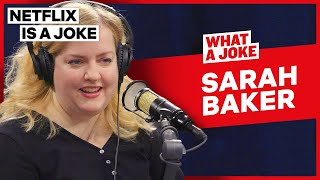 Sarah Baker Loves Working With Michael Douglas And Alan Arkin | What A Joke | Netflix Is A Joke