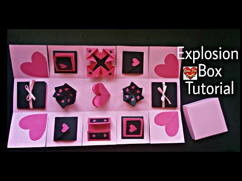 Infinity Explosion Box Tutorial | DIY | Valentine's Day / Anniversary Gift Idea