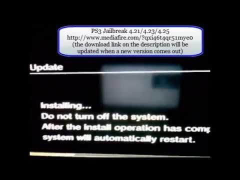 PS3 Jailbreak 4.25/4.23/4.21 - Download