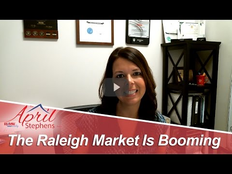 Raleigh, North Carolina Real Estate Agent: The Raleigh market is booming
