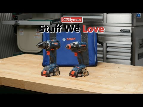 Stuff We Love: Bosch Socket-Ready Impact Driver and Brushless Drill/Driver