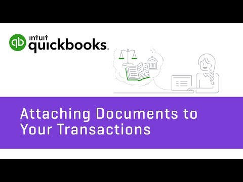 How to Attach Documents To Transactions: Bills & Expenses   QuickBooks Online Tutorial 2018