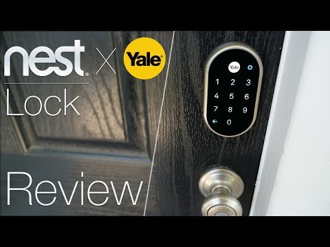 Nest Door Lock Unboxing, Install, and Review