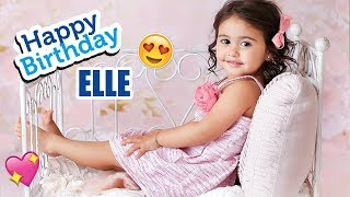 """Happy 2nd Birthday """"ELLE LIVELY MCBROOM""""   The Ace Family"""