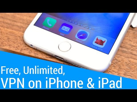 Get a Free VPN with Unlimited Data on your iPhone or iPad