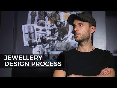 Design a Ring - My Jewellery Design Process.  Vlog 8, Part 1