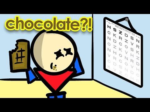 Does Dark Chocolate Help Improve Your Eyesight?
