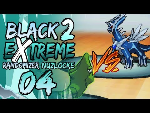 METAPOD VS DIALGA! | Pokemon Black 2 EXTREME Randomizer Nuzlocke Part 4