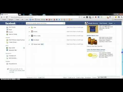 Rearrange Favorites in Facebook Sidebar