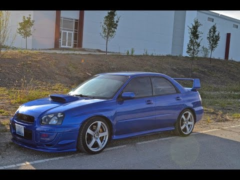 Subaru STI SRS turboback exhaust