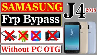 Samsung J400f google account bypass 8 0 frp reset without pc