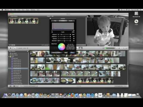Converting to Black & White Using iMovie '09