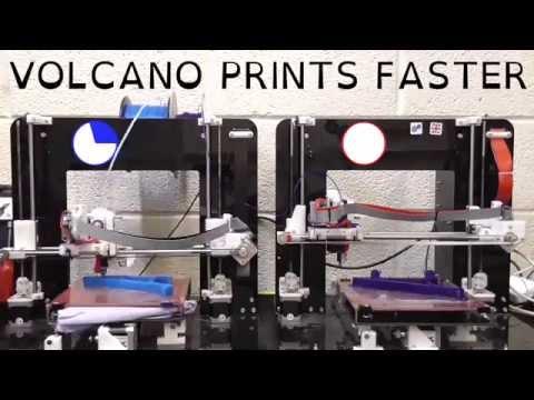 E3D Volcano: Print Faster, Stronger, Bigger