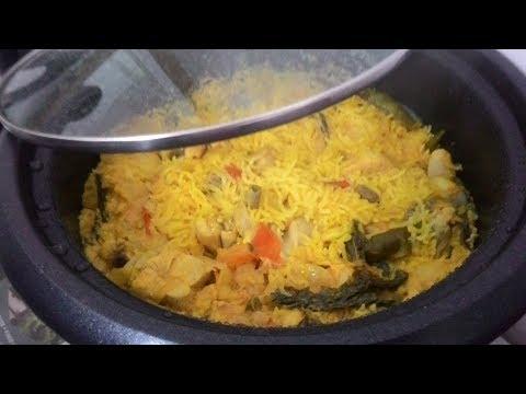 Chicken Biryani in Electric Rice Cooker