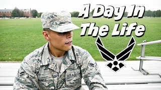 A Day In The U.S Air Force (Active Duty) | Military Day In The Life