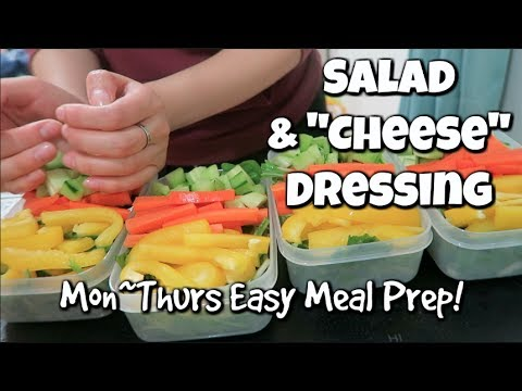 Easy Salad Meal Prep | Life in a Japanese University