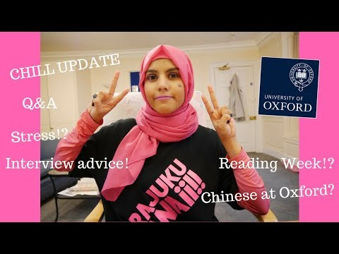 HT6: Chill update! Q&A, Advice, Reading Week? etc