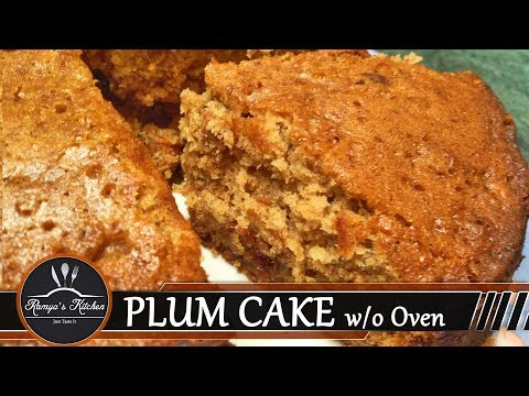 Plum cake recipe in tamil | fruit cake in tamil | cake in pressure cooker | cake recipe Without oven