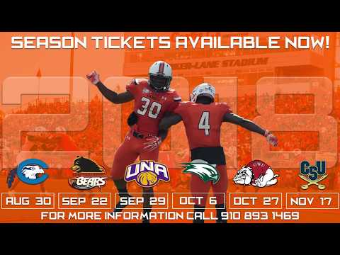 Campbell Football - 2018 Season Tickets