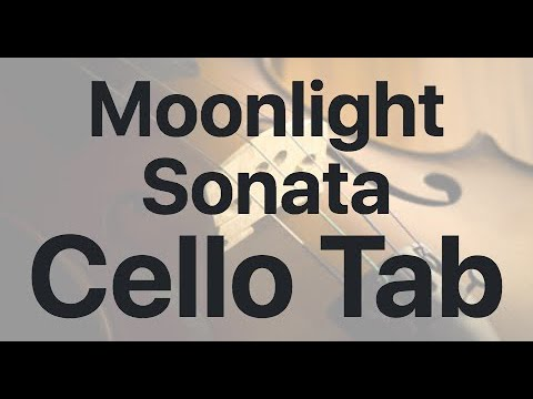 Learn Moonlight Sonata on Cello - How to Play Tutorial