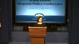 Hispanic Policy Conference Opening Session