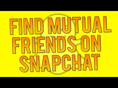 How to See Who's Following YOU Back on Snapchat - Mutual Snapchat Followers!