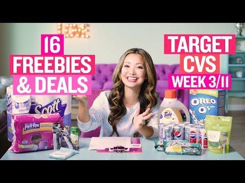 ★ 8 FREEBIES - Target & CVS Coupon DEALS (Week 3/11-3/17)
