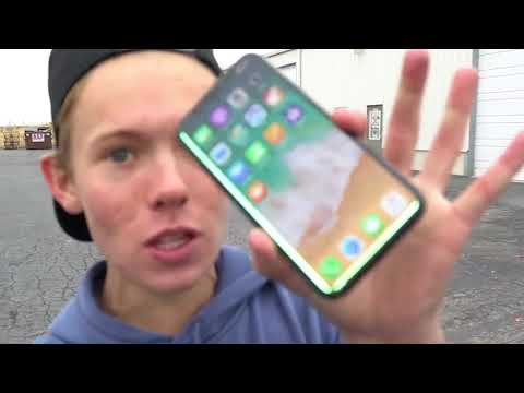 CAN A WATERMELON PROTECT iPhone X from 100ft DROP TEST-VVS WEB Channel