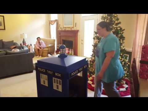 Tardis Christmas Surprise