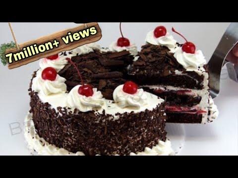 ഓവൻ ഇല്ലാതെ അടിപൊളി ബ്ലാക്ക് ഫോറെസ്ററ് കേക്ക്|black forest cake in malayalam|cake without oven|