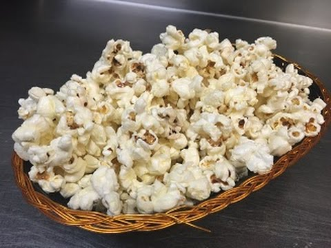 How To Make Movie Theatre Style Popcorn