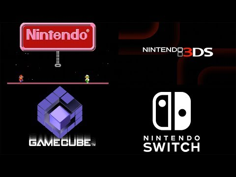 EVERY SINGLE Nintendo Console Startup in 4K 60FPS (NES, Gameboy, DS, Gamecube Wii, Switch + More)
