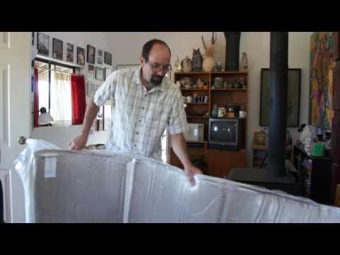 Chevy 4x4 Camper Van Project - Memory Foam Mattress