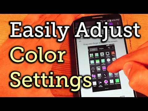 Adjust Color Contrast & Hue on Your LG G3 [How-To]