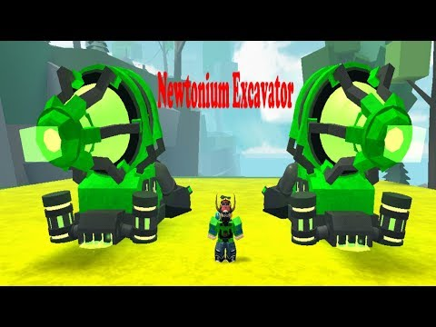 Miners Haven NEWTONIUM EXCAVATOR (Evolved Reborn) Review!