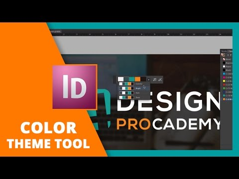 How to Use the Color Theme Tool in InDesign // DESIGN LIKE A PRO