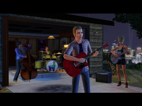 Starting a Band in the Sims 3