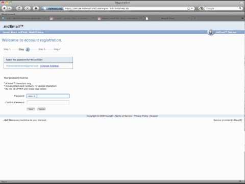 How to open an encrypted email on the .mdEmail secure cloud without a password