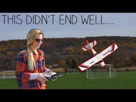Teaching My Girlfriend How To Fly An RC Plane