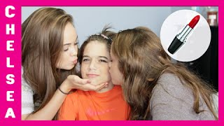 Sisters Do Brother's Makeup!