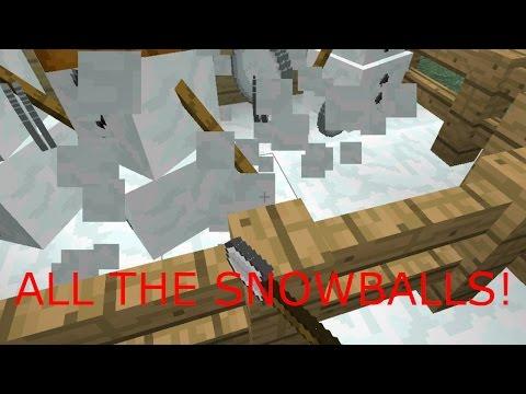 Minecraft Survival| Infinate Snowball Farm! [7]