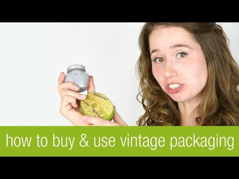 Vintage Packaging: What to Look for and What you Can Use